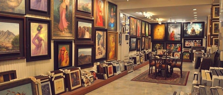 ✮ گالری و نمایشگاه تابلوهای نقاشی سنتی