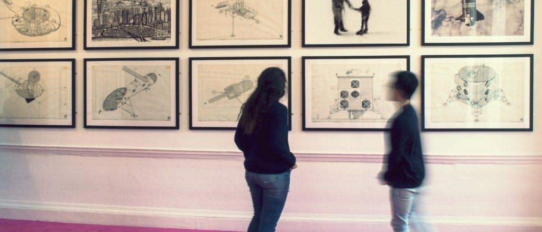 ✮ گالری و نمایشگاه تابلوهای طراحی
