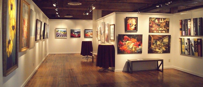 آموزش و آشنایی با برگزاری گالری هنری