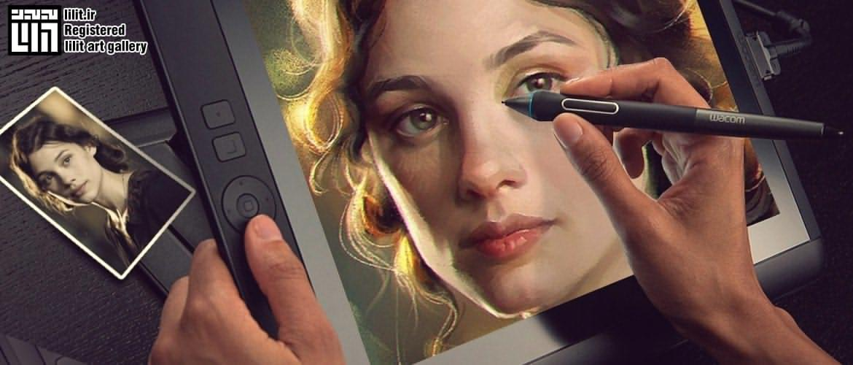 انجام خدمات طراحی و نقاشی دیجیتال از روی چهره و عکس شما